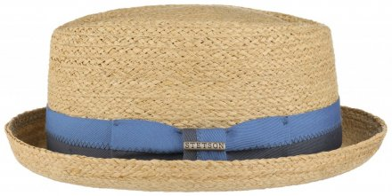 Chapeaux - Stetson Chipley Raffia Pork Pie (nature)