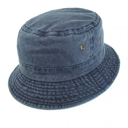 Chapeaux - Cotton Bucket Hat (bleu)