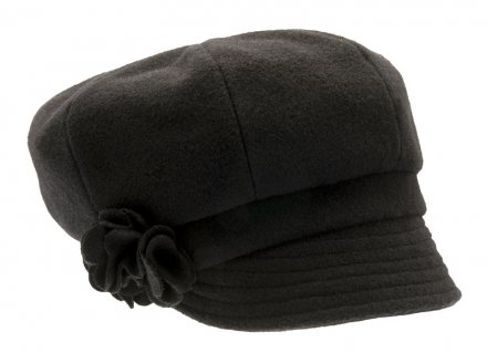 Casquettes - CTH Ericson Lydia Wool (noir)