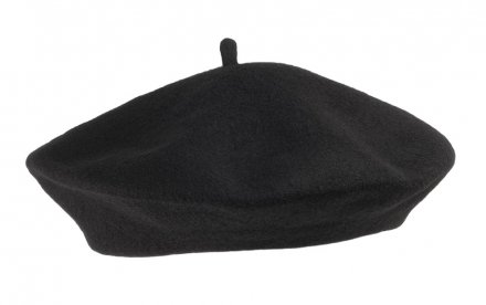 Berets - Wool Fashion Beret (noir)