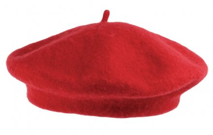 Berets - Wool Fashion Beret (rouge)