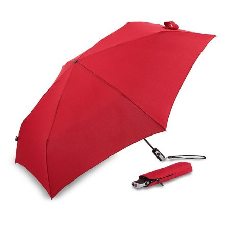 Parapluie - Knirps Flat Duomatic (rouge)