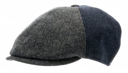 Casquette gavroche/irlandaise - CTH Ericson Colin Patchwork (gris)