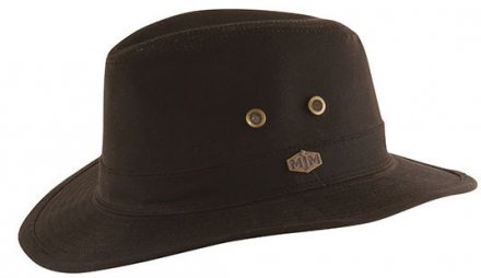 Chapeaux - MJM Haarlem Waxed Cotton (marron)