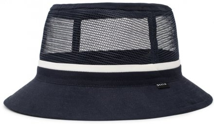 Chapeaux - Brixton Hardy Bucket Hat (navy/white)