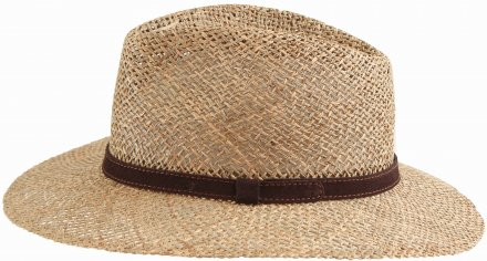 Chapeaux - Gårda Arese Seagrass Fedora (nature)