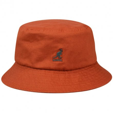 Chapeaux - Kangol Washed Bucket (rouille)