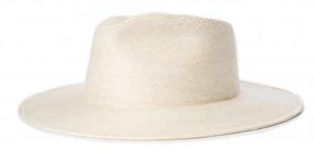Chapeaux - Brixton Marcos Wide Brim Straw Fedora (natural)