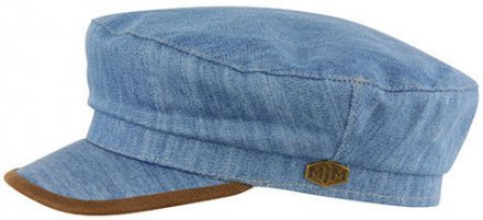 Fiddler cap - MJM Marines Cotton (bleu)