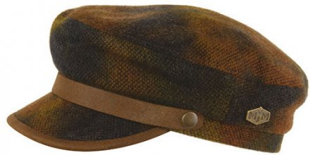 Fiddler cap - MJM Marines Wool (marron)
