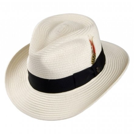Chapeaux - Summer C-Crown Fedora (blanc)