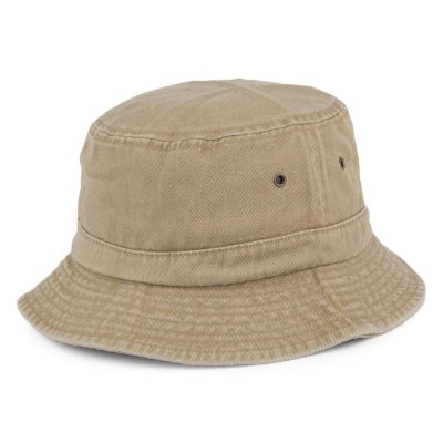 Chapeaux - Cotton Bucket Hat (khaki)