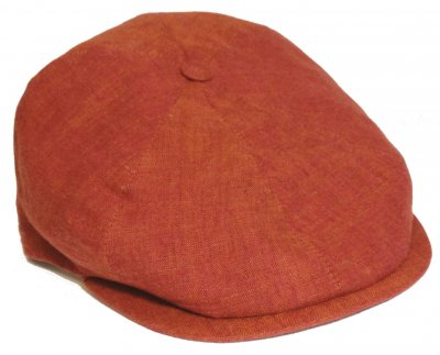 Casquette gavroche/irlandaise - City Sport Caps Bourges (rouge)