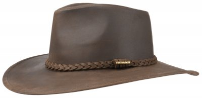 Chapeaux - Stetson Farwell Leather (marron)