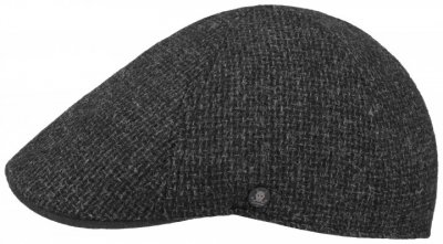 Casquette gavroche/irlandaise - Stetson Texas Wool Rough (anthracite)