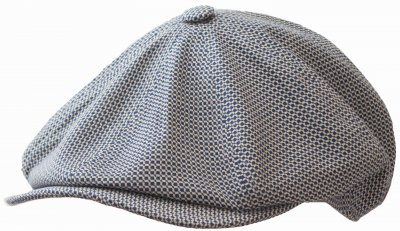 Casquette gavroche/irlandaise - MJM Blindy Cotton Mix (bleu)