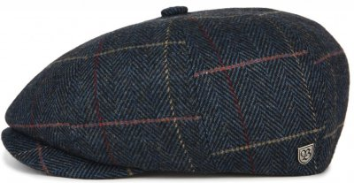 Casquette gavroche/irlandaise - Brixton Brood (navy plaid)