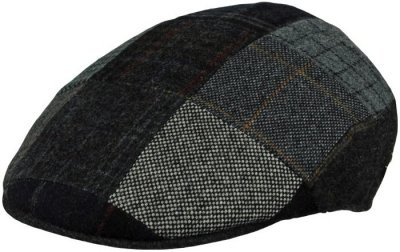 Casquette gavroche/irlandaise - MJM Country Patchwork (gris mix)