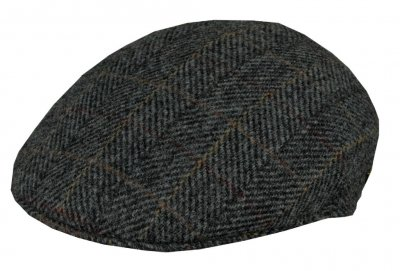 Casquette gavroche/irlandaise - MJM Country Harris Tweed (gris)