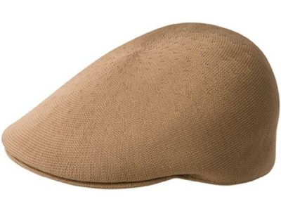 Casquette gavroche/irlandaise - Kangol Recycled Tropic 507 (marron clair)