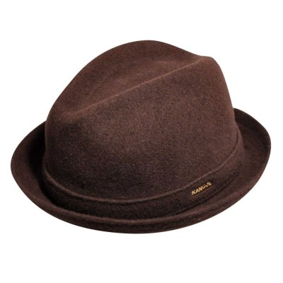chapeaux kangol wool player marron kangol chapeaux pour homme. Black Bedroom Furniture Sets. Home Design Ideas