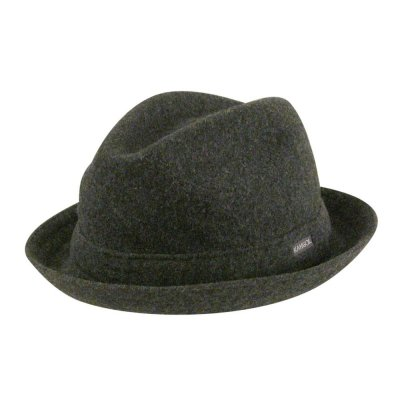 Chapeaux - Kangol Wool Player (gris)