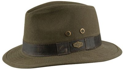 Chapeaux - MJM Outback Washed Canvas (olive)