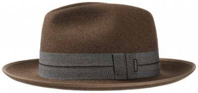 Chapeaux - Stetson Jamestown (marron)