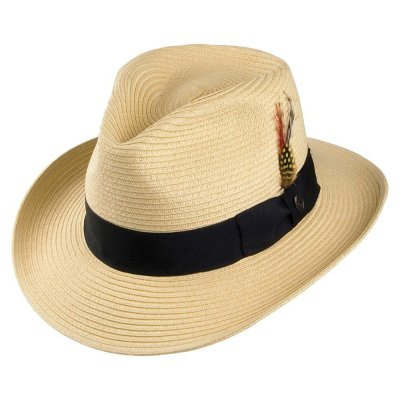 Chapeaux - Summer C-Crown Fedora (nature)