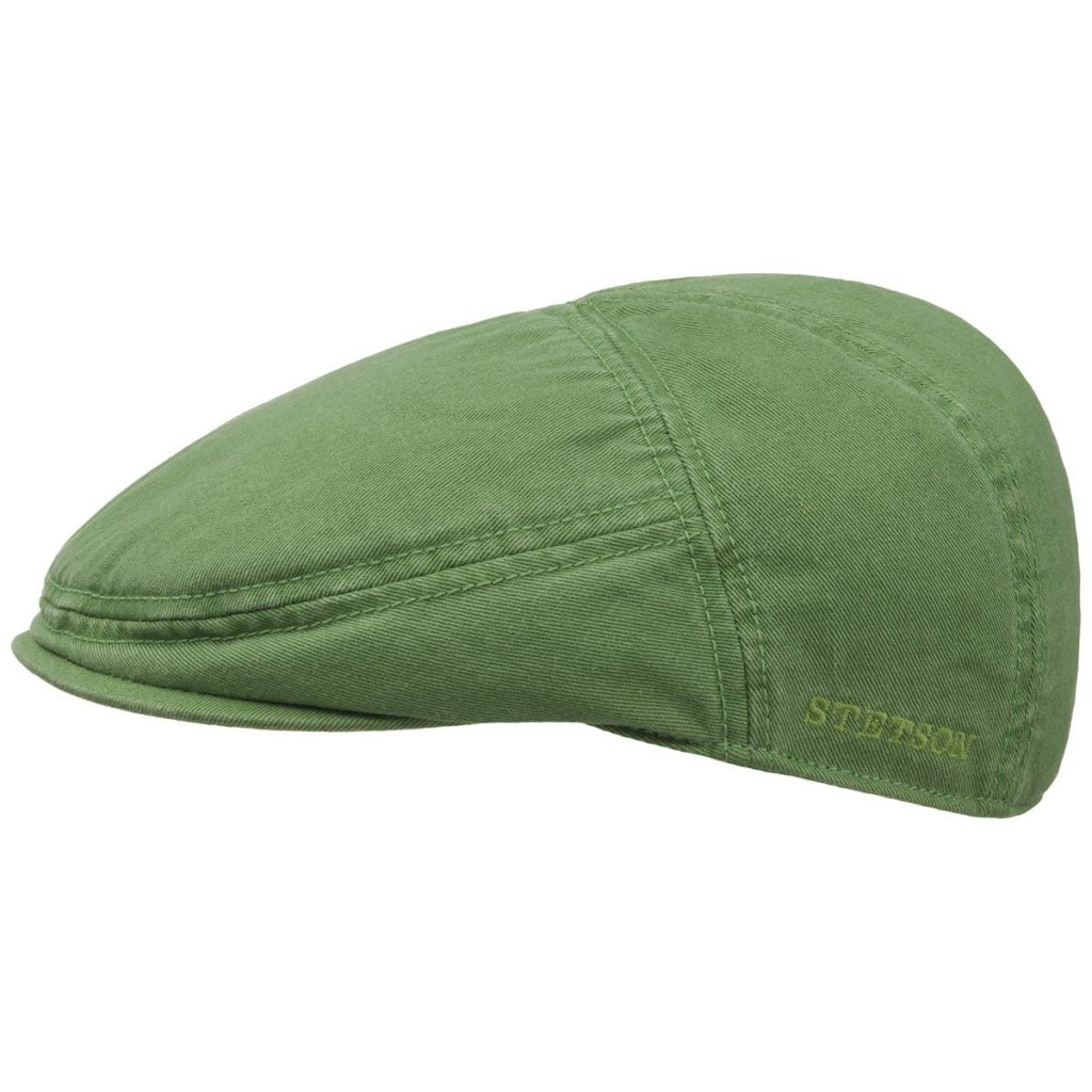 344c50b971038 Casquette gavroche/irlandaise - Stetson Paradise Cotton (vert)