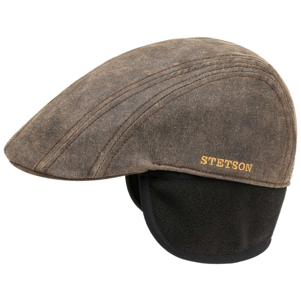 grand choix de frais frais valeur formidable Casquette gavroche/irlandaise - Stetson Madison Old Cap Winter (marron)