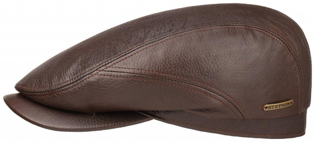 casquette gavroche irlandaise stetson belfast lamb skin marron les casquettes chapeaux. Black Bedroom Furniture Sets. Home Design Ideas